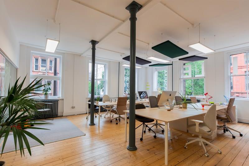 modern bright creative studio-space