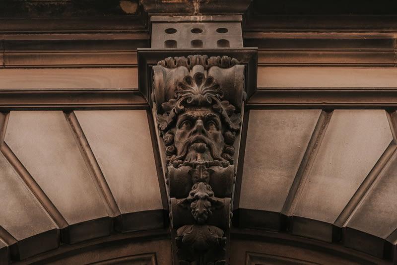 22 lever street entrance head
